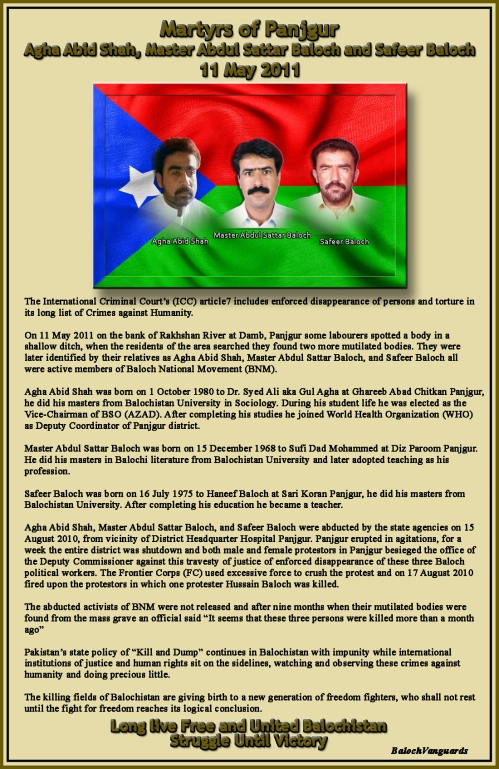 Martyrs of Panjgur Poster