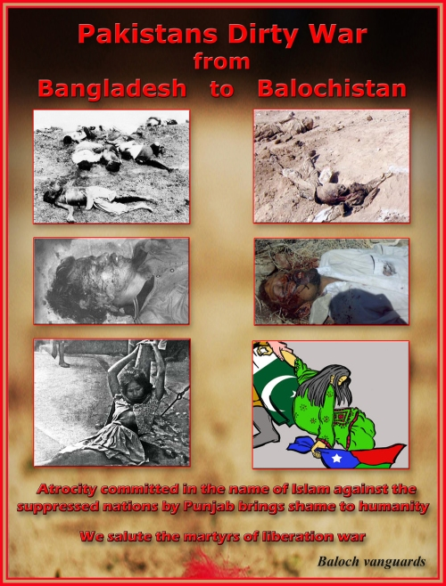 Pakistan Dirty War from Bangladesh to Balochistan