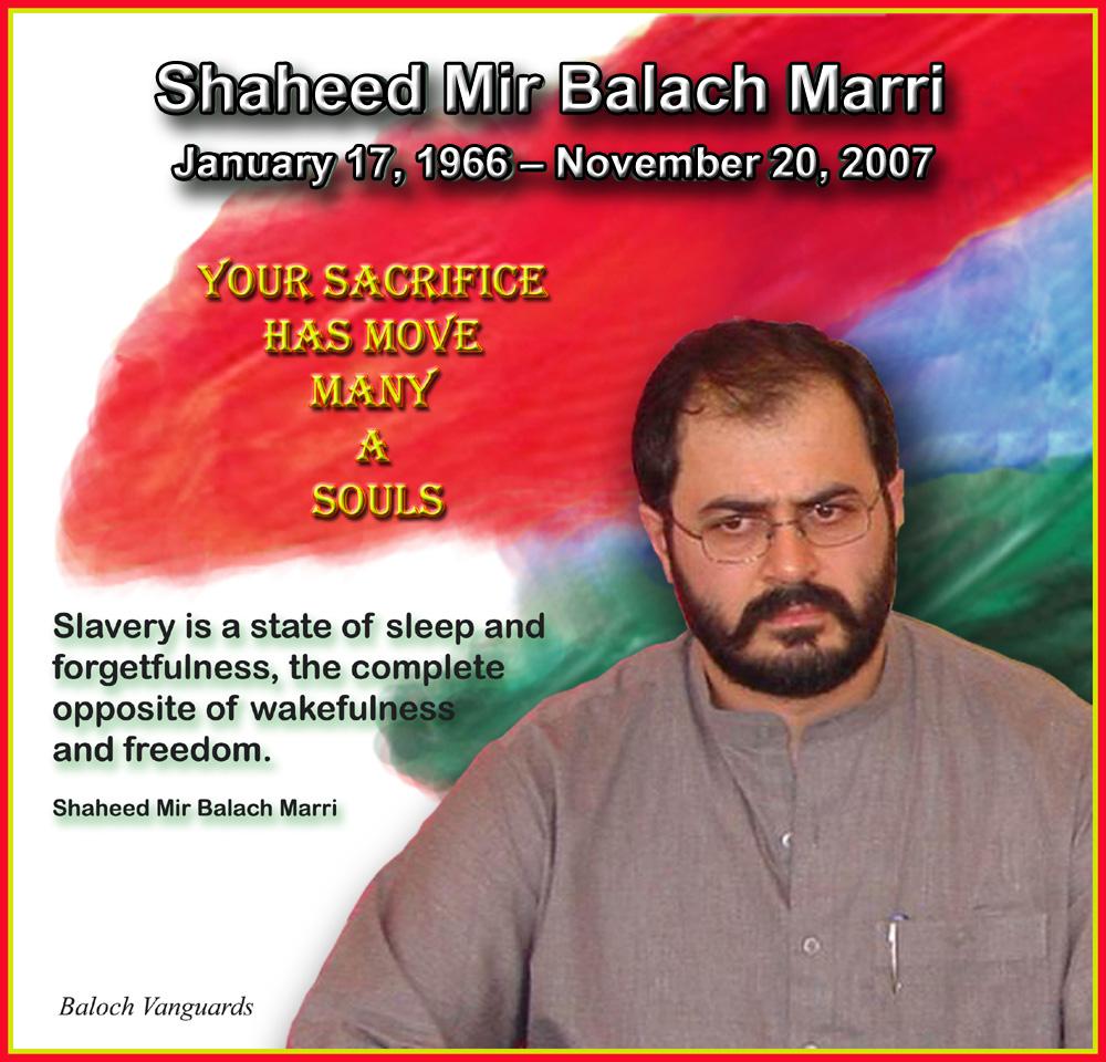 Shaheed Mir Balaach Marri