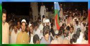 Funeral procession Shaheed Rasool Baksh Mengal