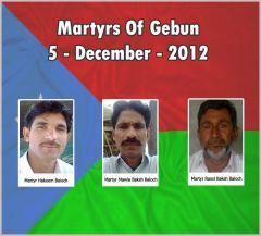martyrs of gebun 5-12-2012