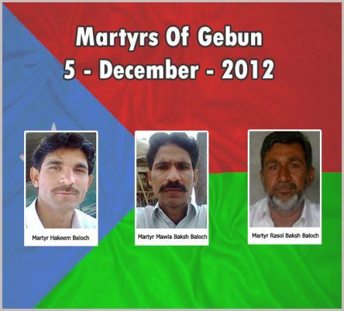 martyrs of gebun 5-12-2012