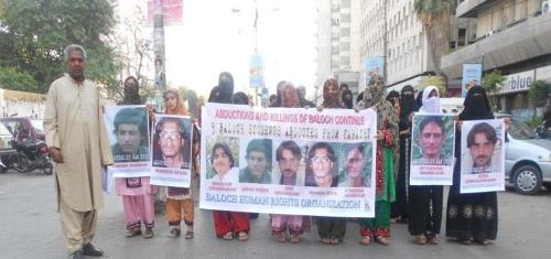 BHRO Protest Karachi
