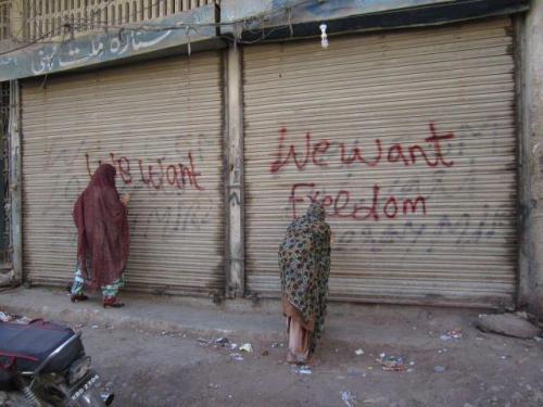 BNF Relly At Karachi Press club 10-2-2013 26