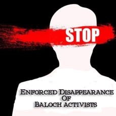 Enforced Disappearance Of Baloch activists