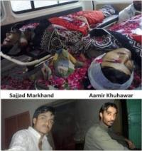 Aamir Khuhawad and Sajjad Markhand
