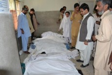 Victims of Quetta bus bomb blast