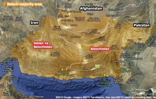 Balochistan Map