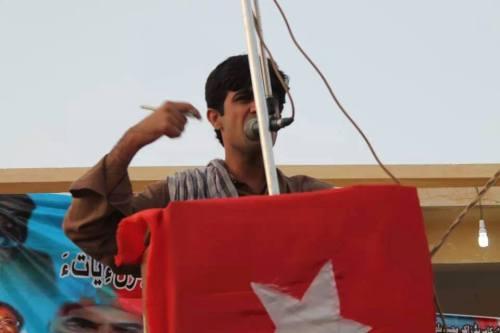 Shaheed-Raza-Jahangir-Baloch-speech