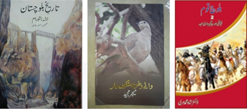 Books on Balochistan confiscated