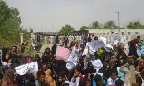 Baloch protest against Tanzeem-ul-Islami-ul-Furqan