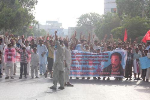 BSO_A demo Karachi Zahid Baloch2