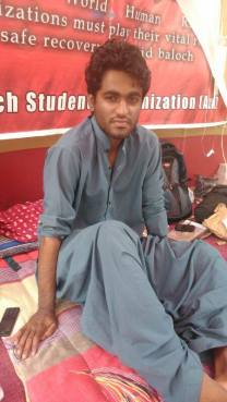 Latif Johar_BSO_hunger_strike_karachi