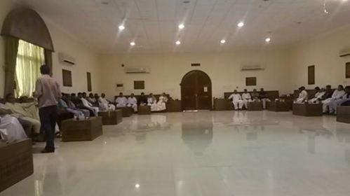 Bahrain Baba marri condolence meeting