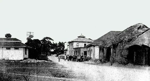 Baluch settlements on Makadara Road, Mombasa, 1920