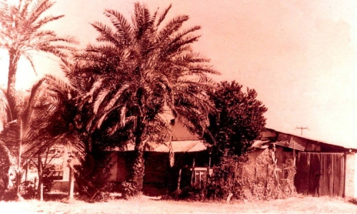 The first Baluchi Mosque, Mombasa, built in 1865