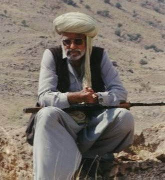 Mir Mohammed Ali Talpur in Marri Mountains
