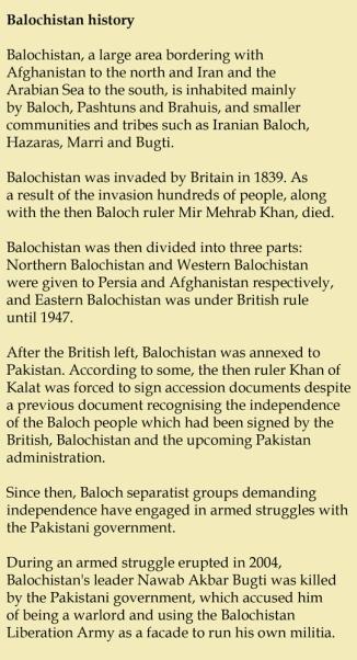 Balochistan hitsory