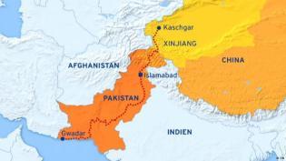 Gwadar to Kaschgar Road
