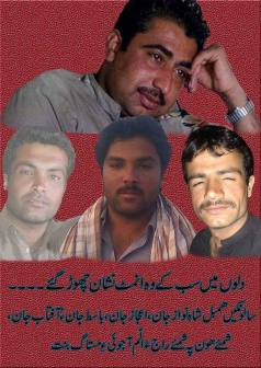 Martyred Baloch Grooms