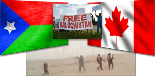 Balochistan war come to Canada