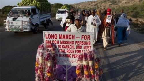 پاکستان کے شورش زدہ صوبے بلوچستان میں بہت سے لوگ لاپتہ ہو ئے ہیں [شکیل عادل / اے پی]