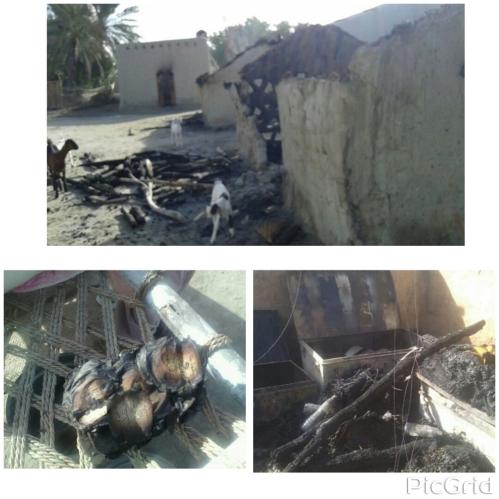 Burned houses Baalicha Balochistan1