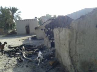 Burned houses Baalicha Balochistan2
