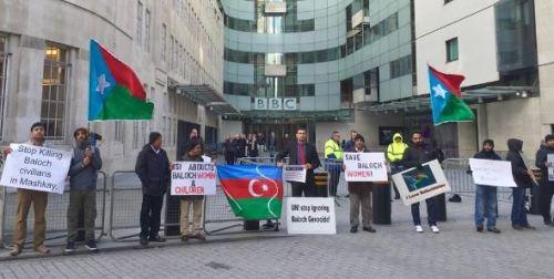 London demo SaveBalochWoman
