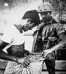 Pakistan army searching for Hindu Bengalis