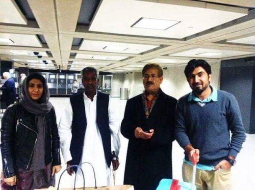 Qader Baloch Farzan Majeed reached America