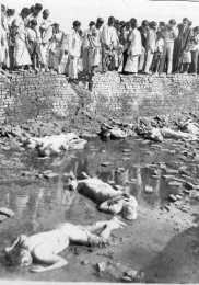 The victims were killed by the Razakars
