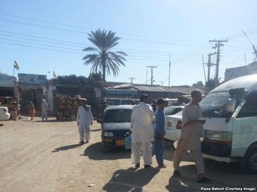 Gwadar main square Mullah Fazal Chowk