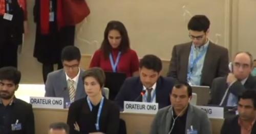 Abdul Nawaz Bugti at UN
