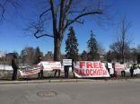 BSO-A Ottawa demo Pak embassy 1