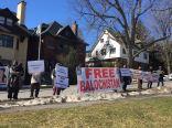 BSO-A Ottawa demo Pak embassy 3