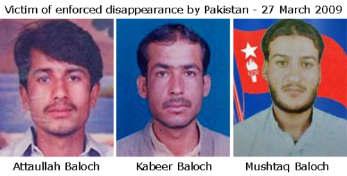 Missing Baloch Kabeer Mushtaq Attaulla
