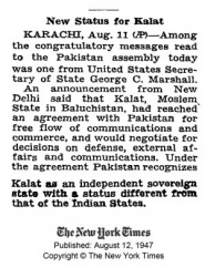 The New York Times - 12 Aug 1947