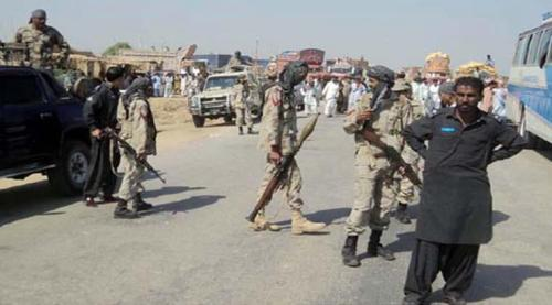 Pakistan army in Balochistan