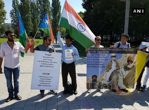 baloch protest Leipzig- Germany