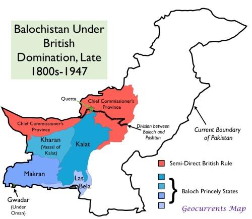 British-Balochistan-map