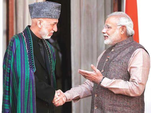 Modi_Karzai