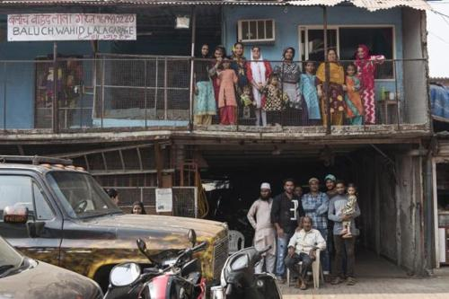 Despite producing three generations of stuntmen, the 25-member Baluch family still lives in a warren above the family garage in suburban Mumbai. (Aalok Soni/HT