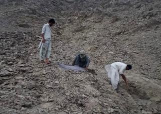Mass grave at Panjgur
